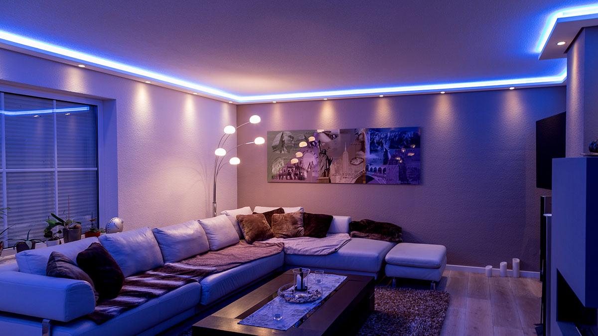 Indirekte decken und wandbeleuchtung besser leben mit - Indirekte wandbeleuchtung ...